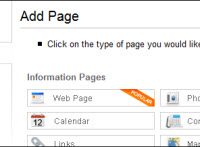 Add page type image